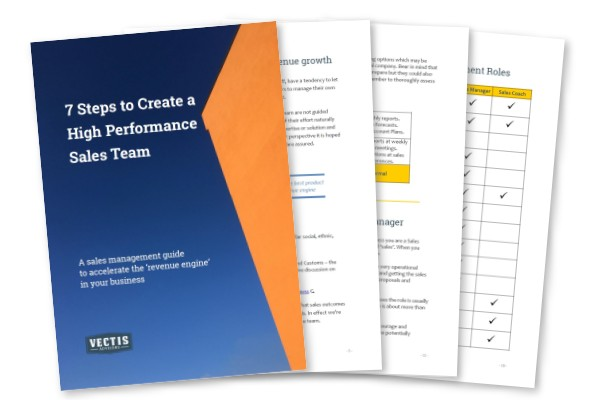 7 Steps to Create a High Performance Sales Team free download